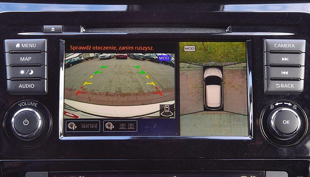 Nissan Qashqai DIG-T 160 DCT Tekna+ – kamera