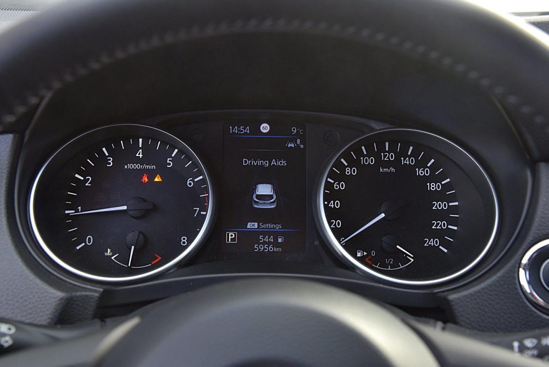 Nissan Qashqai DIG-T 160 DCT Tekna+ – wskaźniki