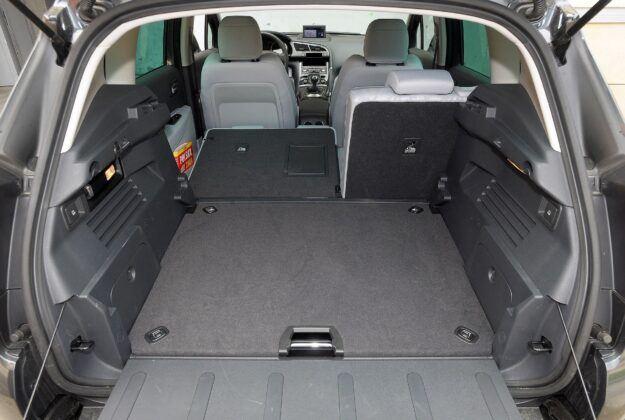 Peugeot 3008 I bagażnik