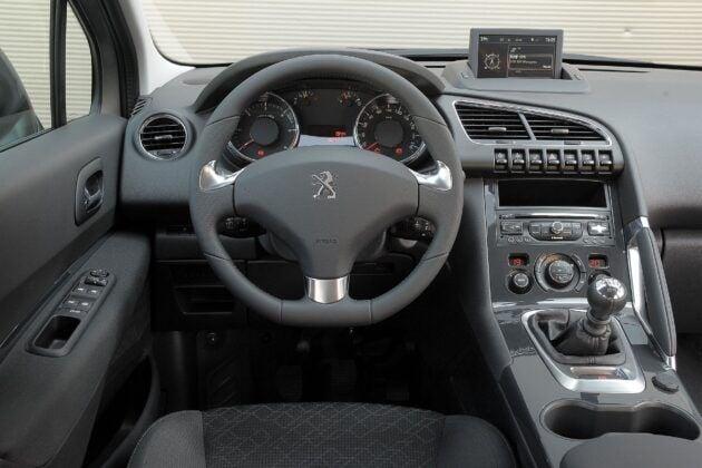 Peugeot 3008 deska rozdzielcza