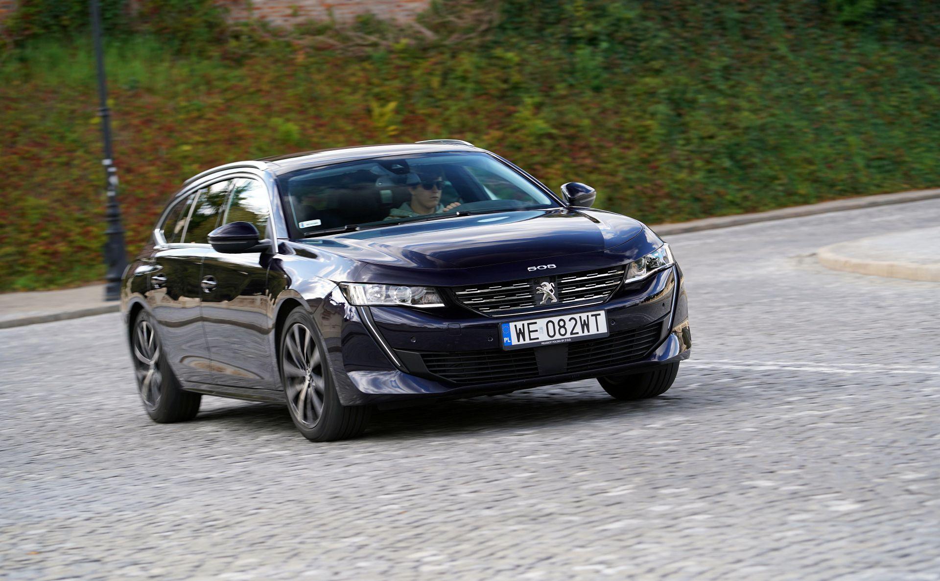 Peugeot 508 SW - dynamiczne