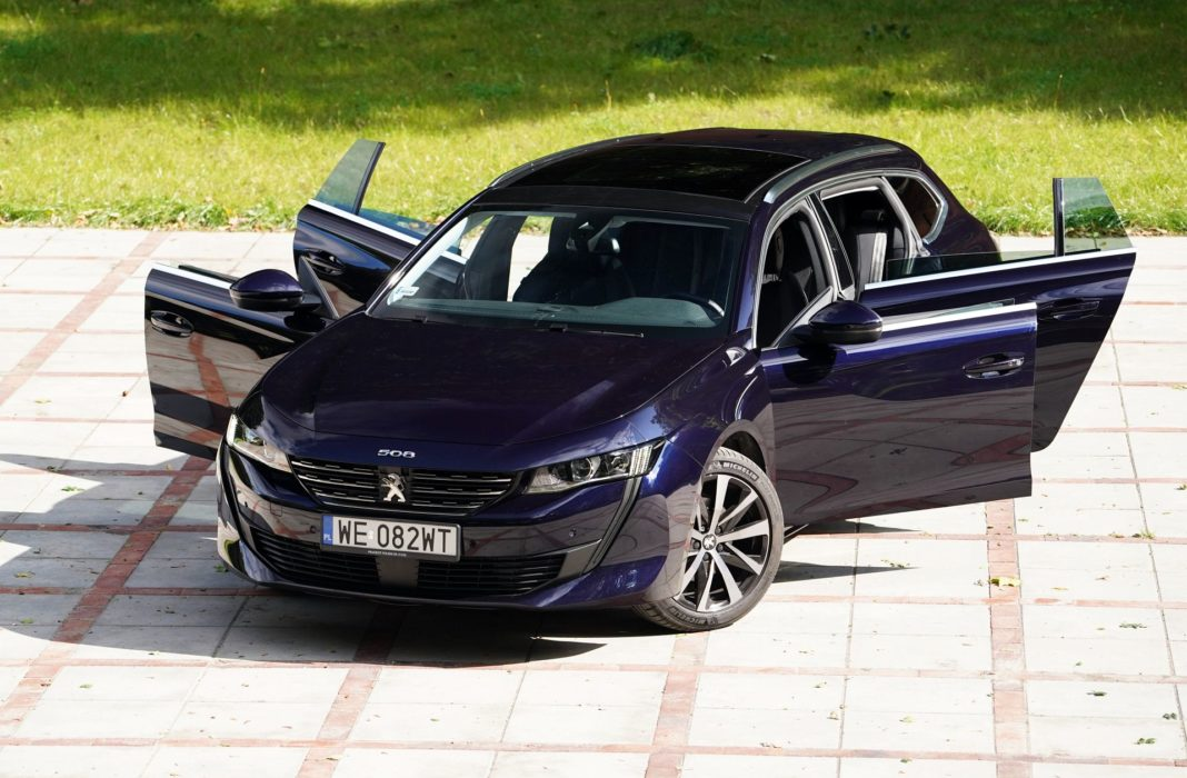 Peugeot 508 SW - przód