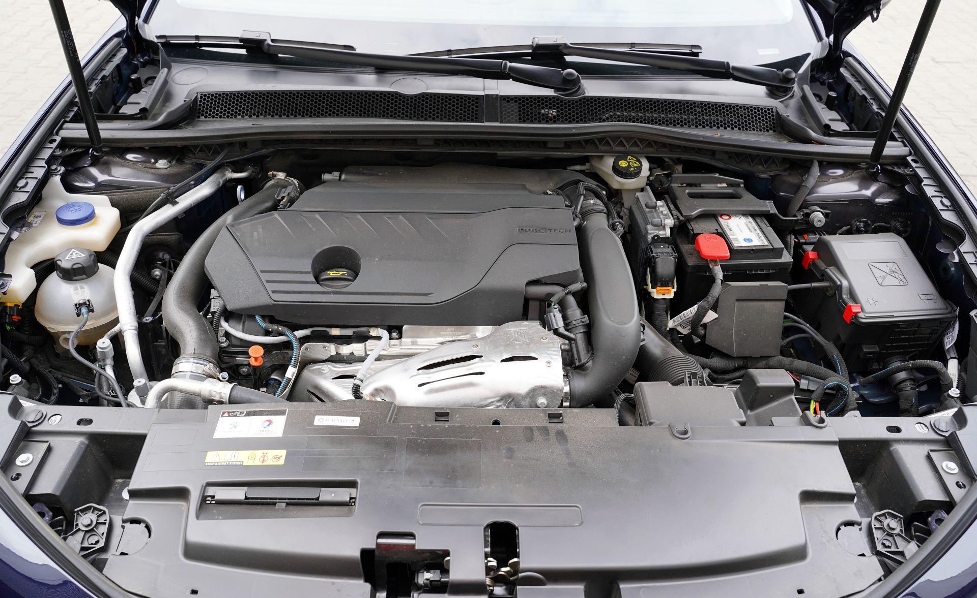 Peugeot 508 SW - silnik