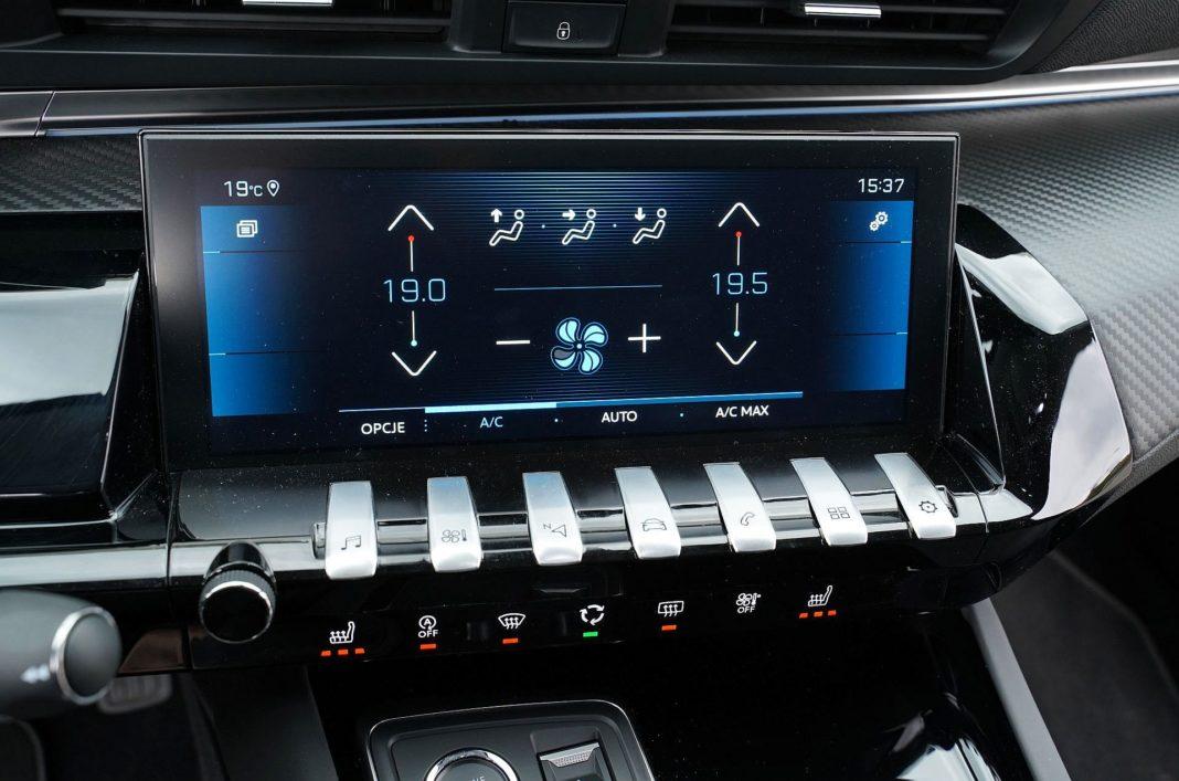 Peugeot 508 SW - ekran