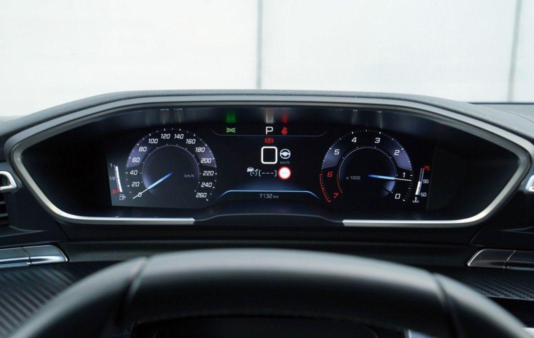 Peugeot 508 SW - wskaźniki