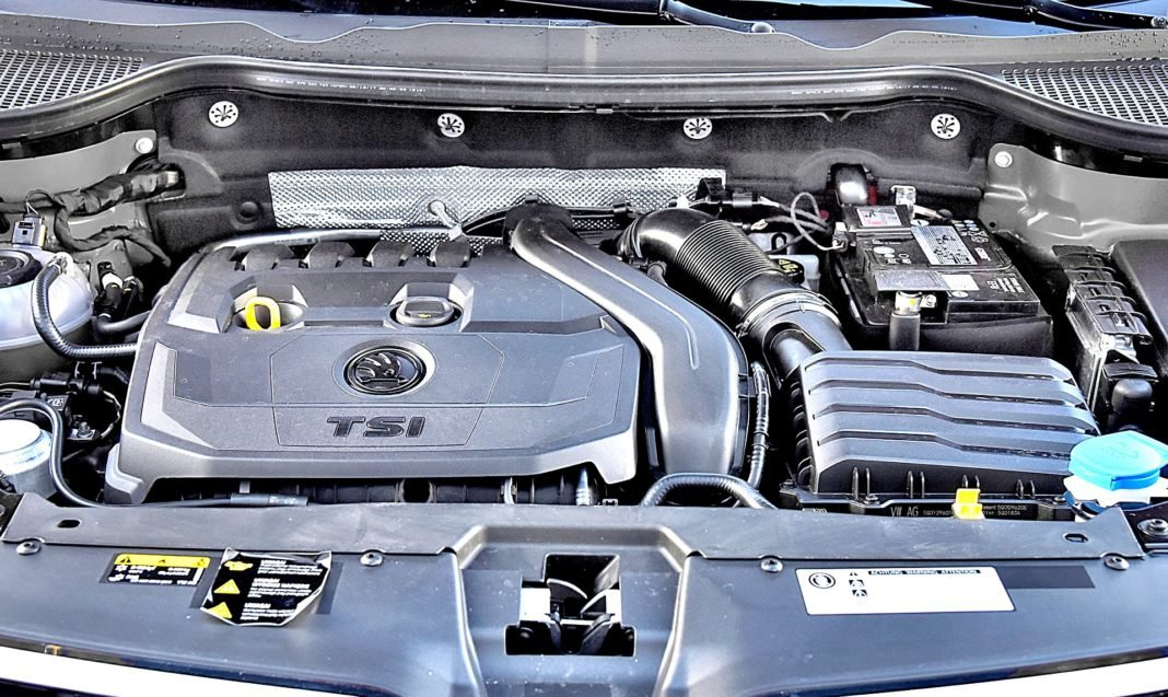 Skoda Karoq 1.5 TSI 150 4x4 DSG silnik