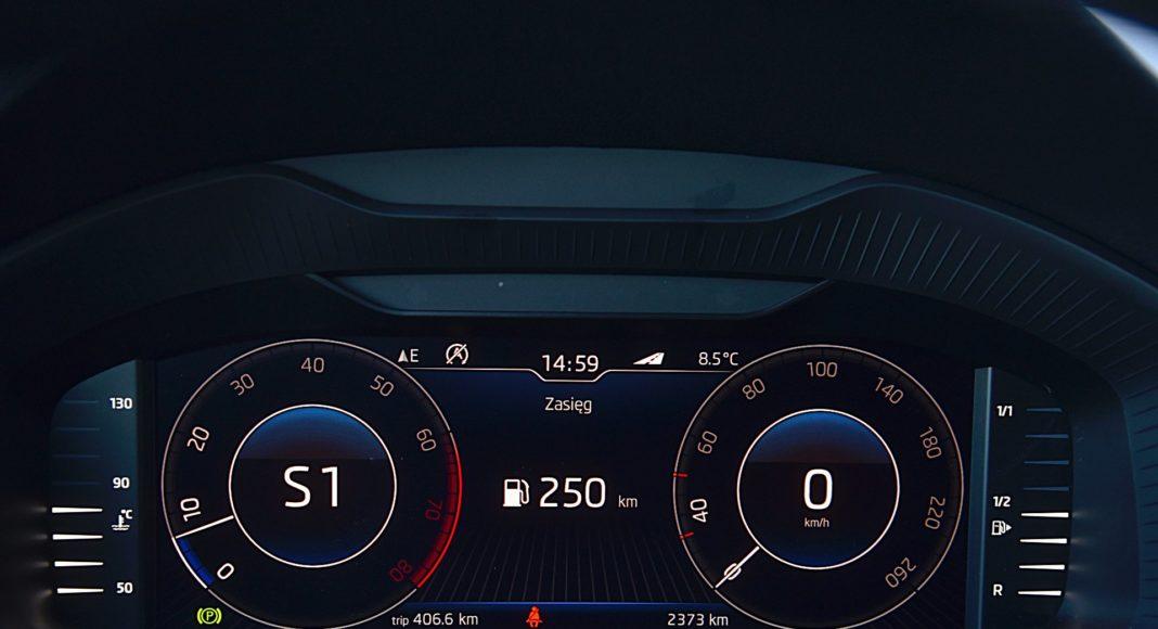 Skoda Karoq 1.5 TSI 150 4x4 DSG Style – wskaźniki