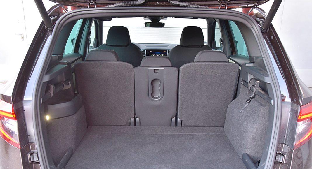 Skoda Karoq 1.5 TSI 150 4x4 DSG Style – bagażnik