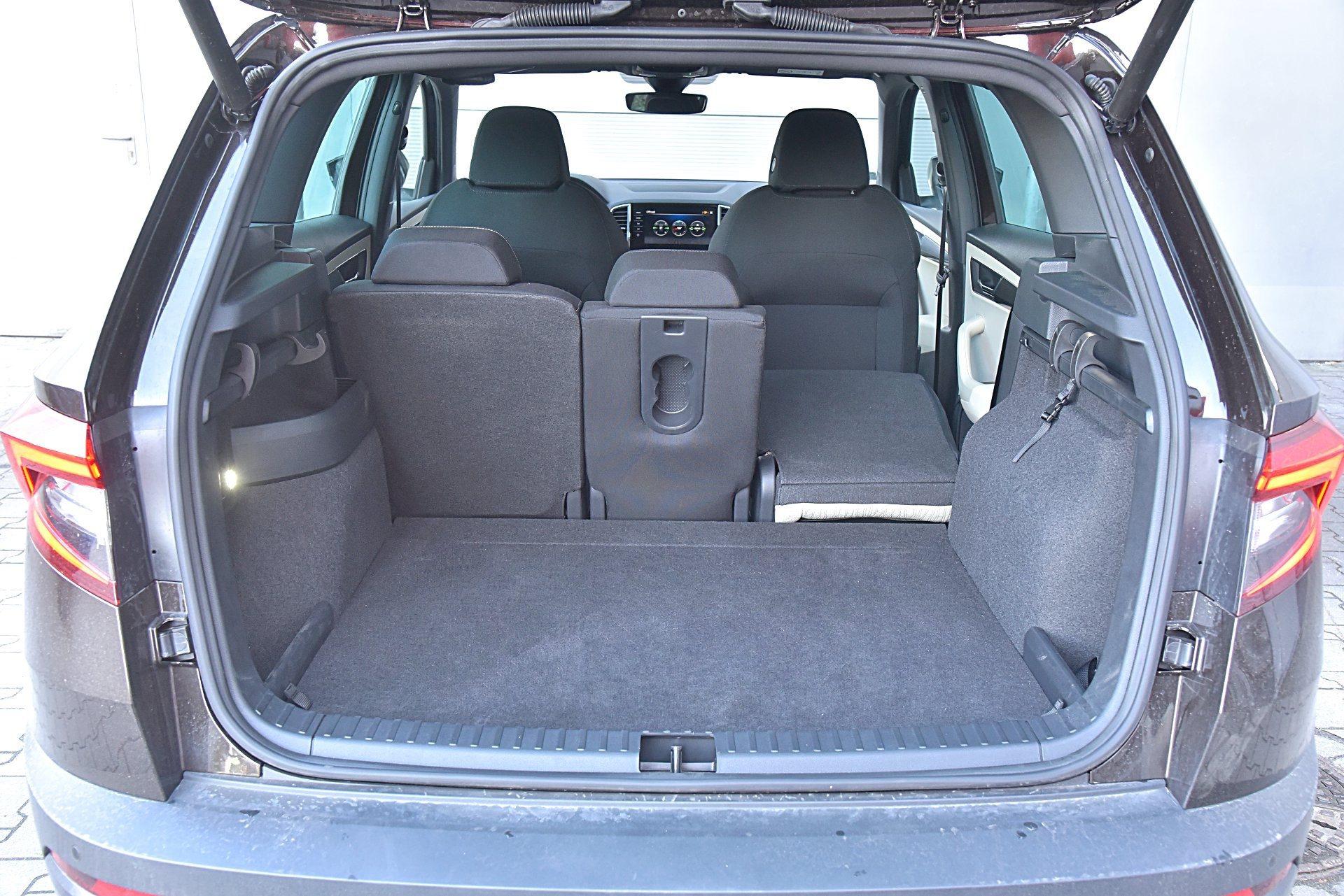 SKODA Karoq Style 1.5TSI 150KM 7AT DSG 4x4 bagażnik