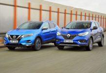 Nissan Qashqai - Renault Kadjar