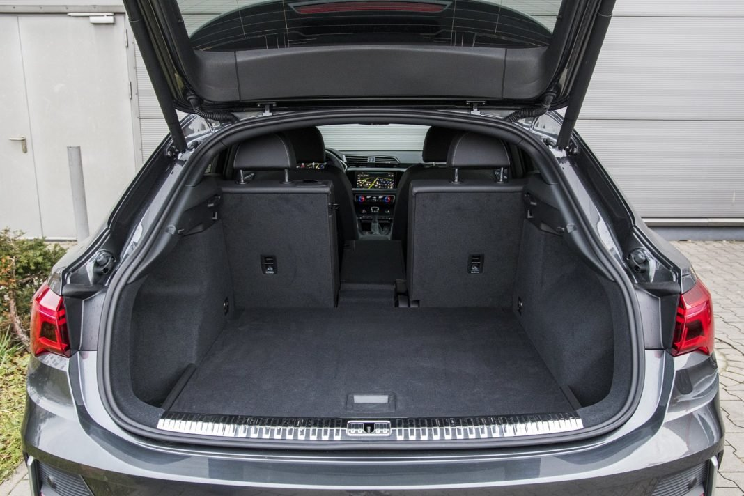 Audi Q3 Sportback 45 TFSI quattro S tronic - test - bagażnik