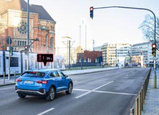 Audi zwiększy płynność ruchu w mieście