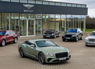 Jaki był najpopularniejszy model Bentleya w ubiegłym roku?