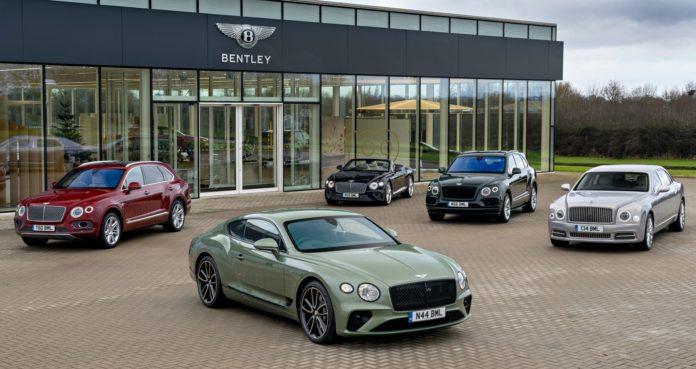 Bentley - gama modelowa