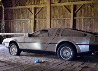 Powrót do przyszłości: DeLorean prosto z szopy