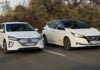 Hyundai Ioniq Electric - Nissan Leaf