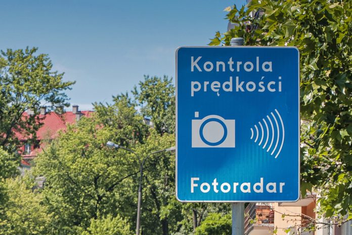 Kontrola prędkości - fotoradar