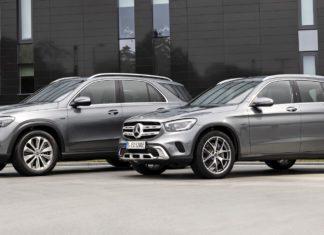 Nowe hybrydowe SUV-y od Mercedesa. Obydwa w wersji plug-in