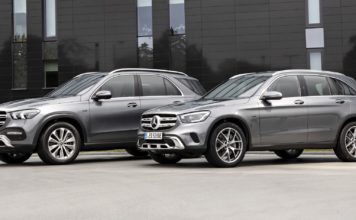 Mercedes GLC 300 e oraz GLE 350 de