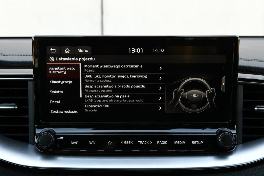 Kia XCeed 1.4 T-GDI XL - systemy wspomagające
