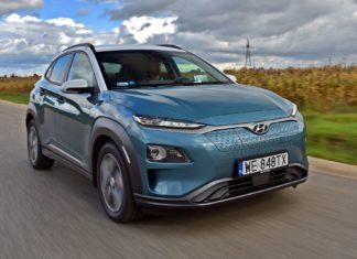 Hyundai Kona Electric zdobywa szczyty