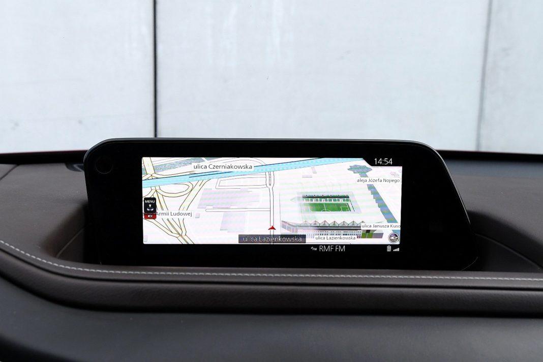 Mazda CX-30 2.0 Skyactiv-G Hikari - nawigacja