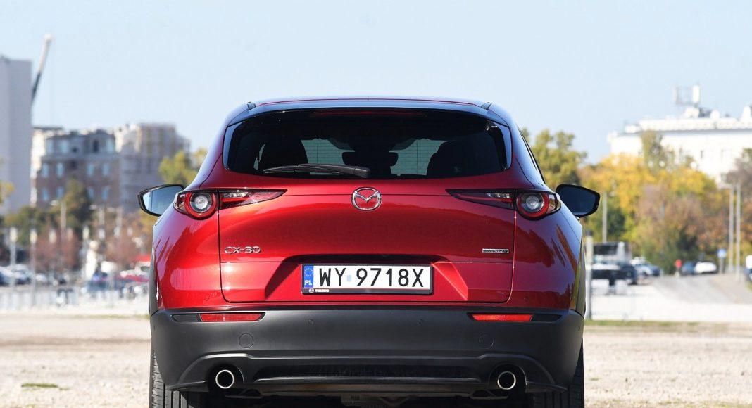 Mazda CX-30 2.0 Skyactiv-G Hikari - tył