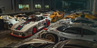Magazyn Muzeum Porsche