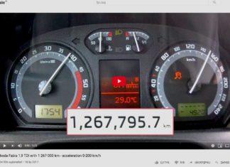 1 267 000 km przebiegu. Czy taka Fabia 1.9 TDI wyciągnie 200 km/h?