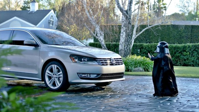 VW Passat - reklama
