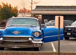 Skradziony Cadillac wrócił do 106-letniego właściciela
