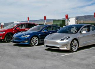 Spada sprzedaż samochodów elektrycznych...