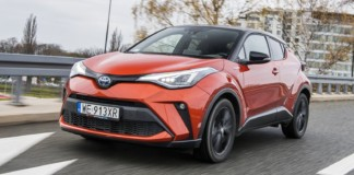 toyota c-hr 2.0 hybrid dynamic force test 2020