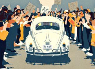 Volkswagen uroczyście pożegnał Garbusa