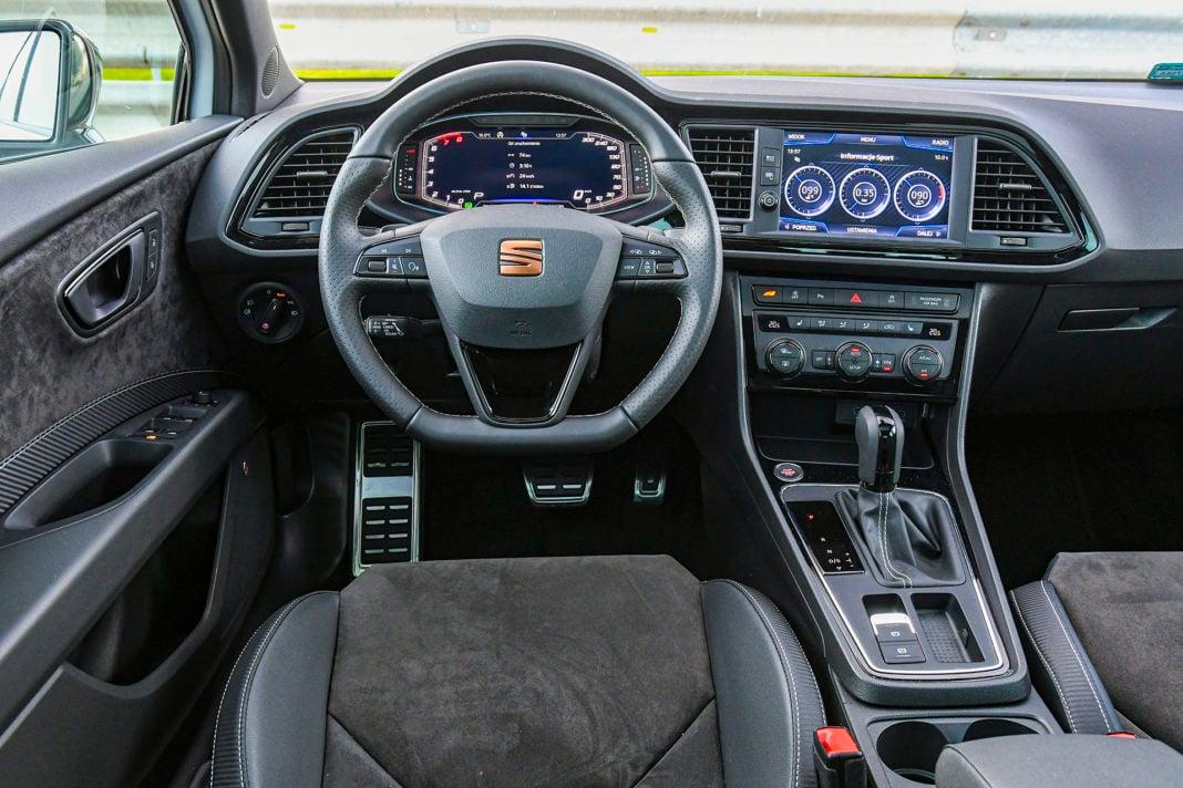 2019 Seat Leon Cupra - deska rozdzielcza