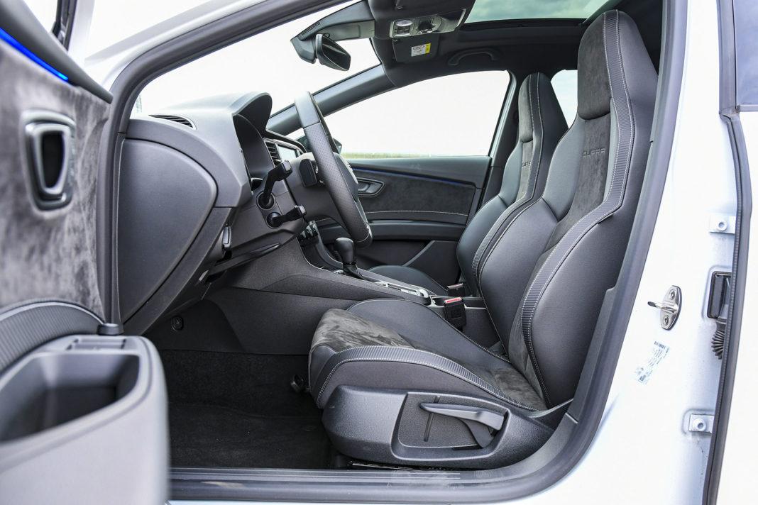 2019 Seat Leon Cupra - fotele