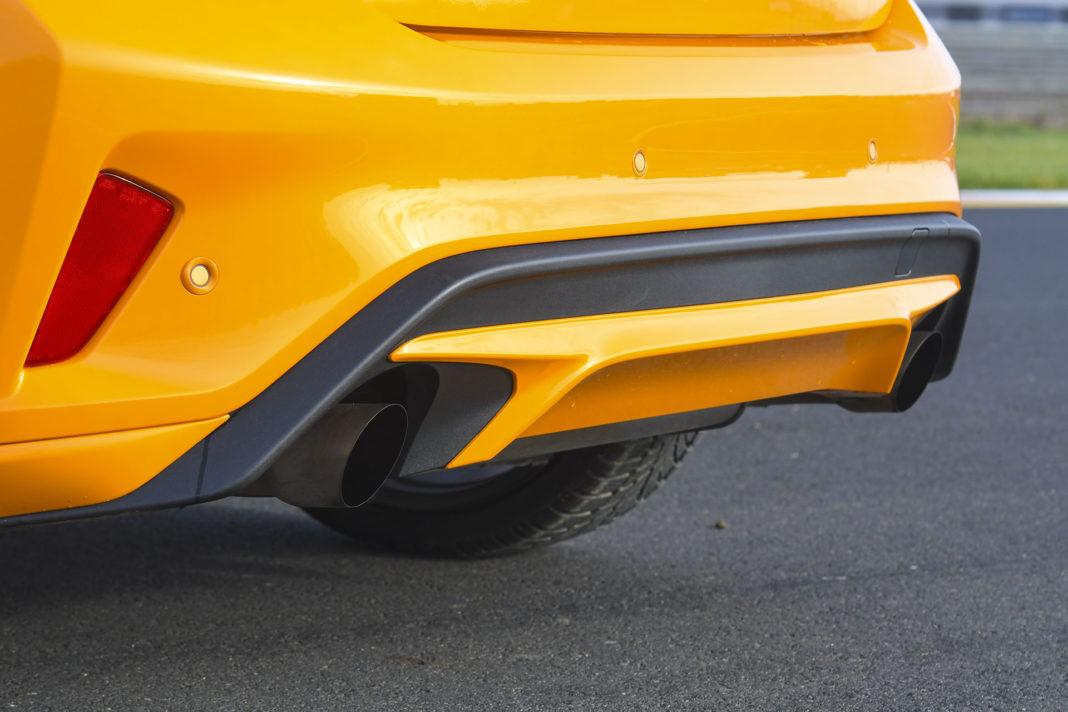 2020 Ford Focus ST - wydech