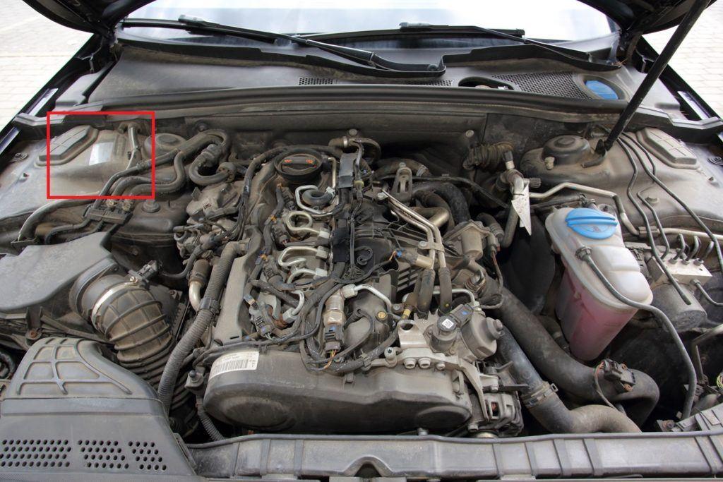 Audi A4 B8 - VIN