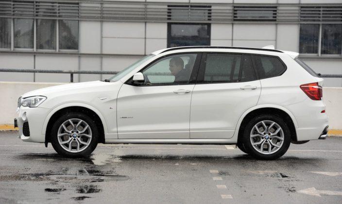 BMW X3 F25 FL xDrive30d M-Pakiet 3.0d R6 258KM 8AT WY8566V 01-2015
