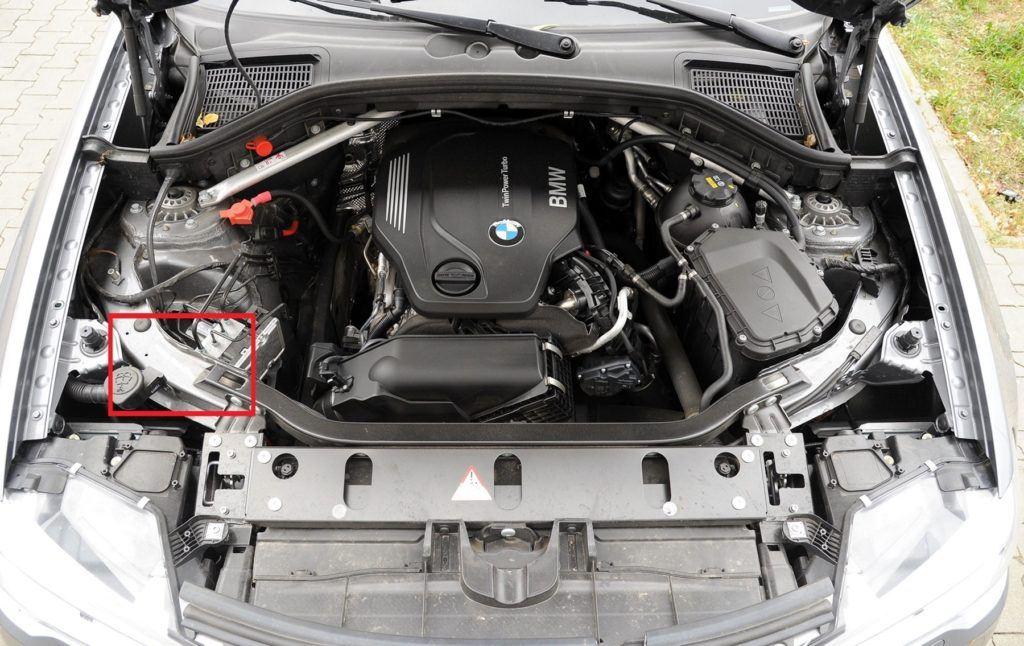 BMW X3 F25 FL xDrive20d M-Pakiet 2.0d 190KM 8AT WY0369W 09-2015