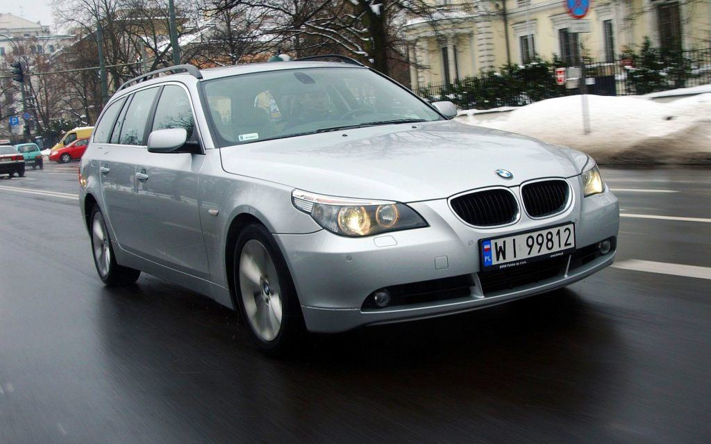 BMW 530d E61 Touring 3.0d R6 218KM 6AT WI99812 03-2005