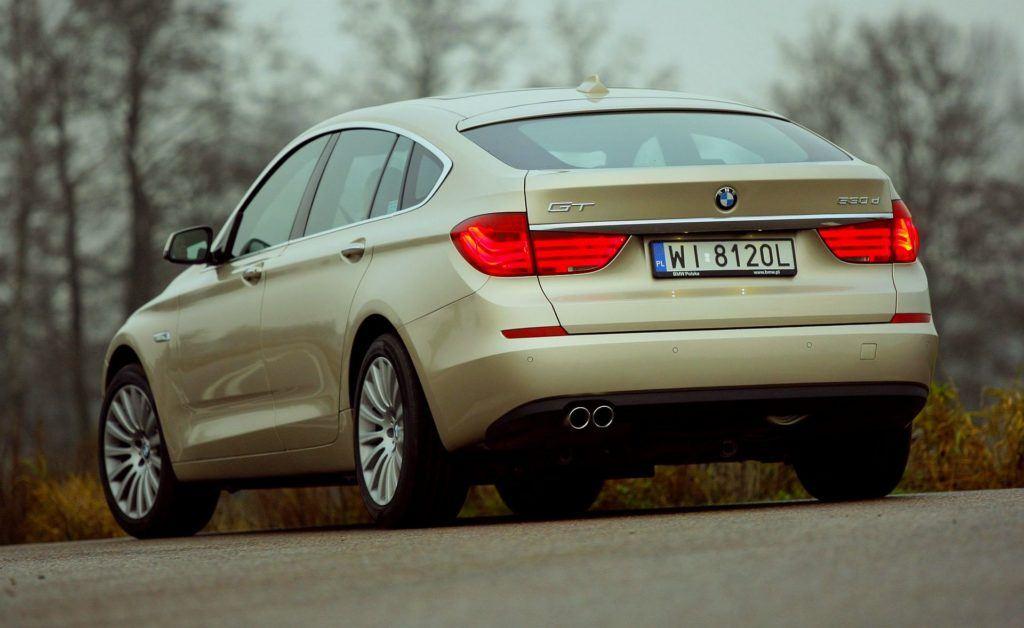 BMW 530d F07 Gran Turismo 3.0d R6 245KM 8AT WI8120L 11-2009