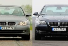 BMW 530xi E60 3.0 R6 272KM 6AT xDrive WI9217K 05-2009