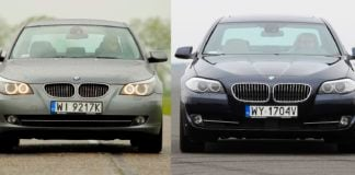 BMW 530xi E60 3.0 R6 272KM 6AT xDrive WI9217K 05-2009
