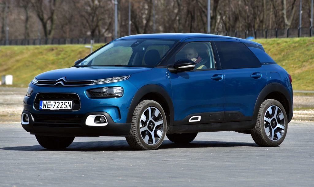 CITROEN C4 Cactus I FL Shine 1.2PureTech 130KM 6MT WE722SN 03-2018