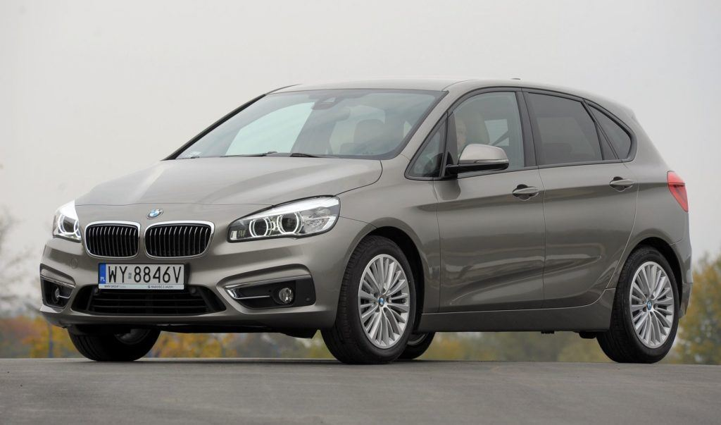 BMW 218d Active Tourer F45 Luxury Line 2.0d 150KM 8AT WY8846V 10-2014