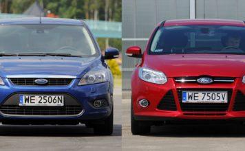 Ford Focus II i Ford Focus III
