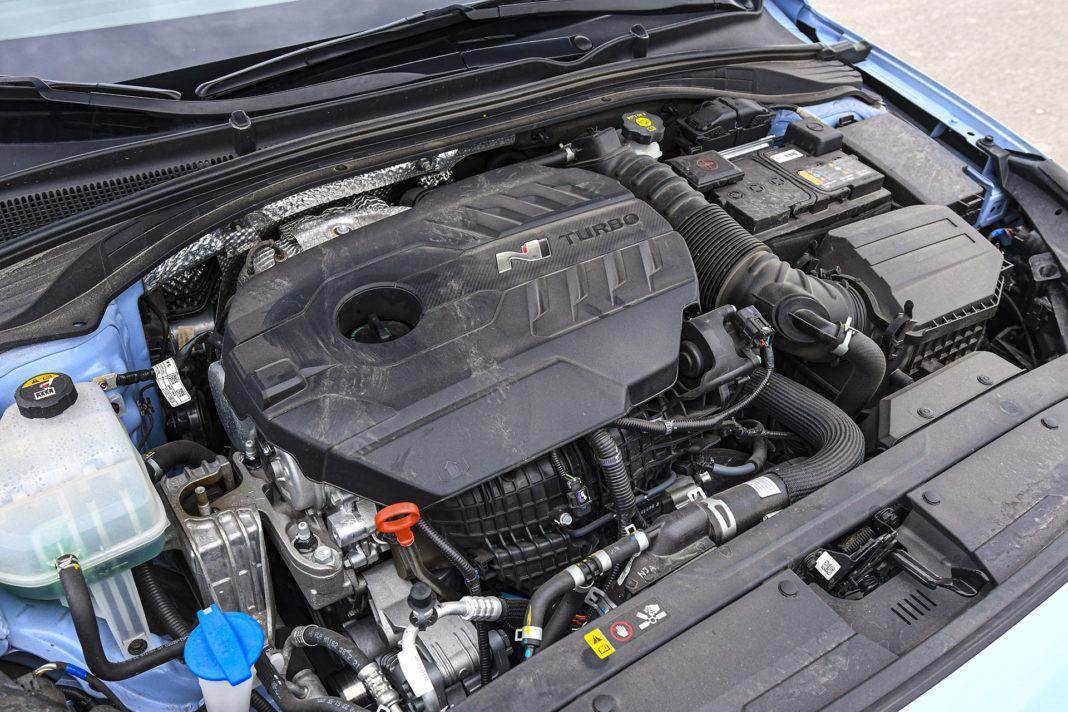 Hyundai i30 N Performance - silnik