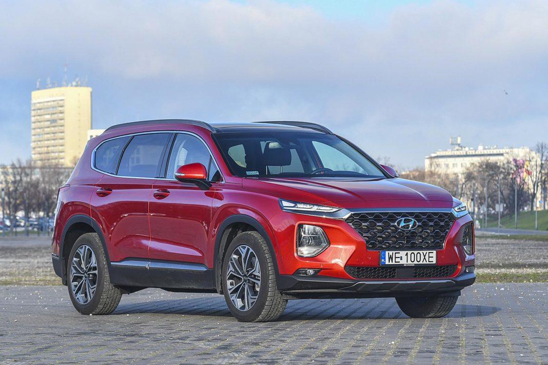 Hyundai Santa Fe 2.0 CRDi 8AT 4WD - przód