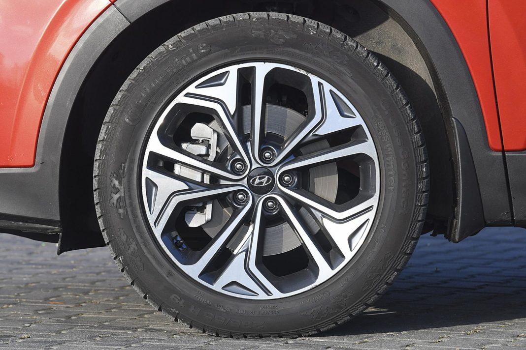 Hyundai Santa Fe 2.0 CRDi 8AT 4WD - koło